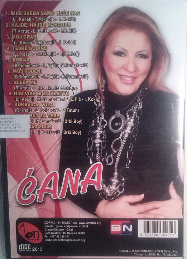 Stanojka Bodiroza Cana - Diskografija 2 R-789412
