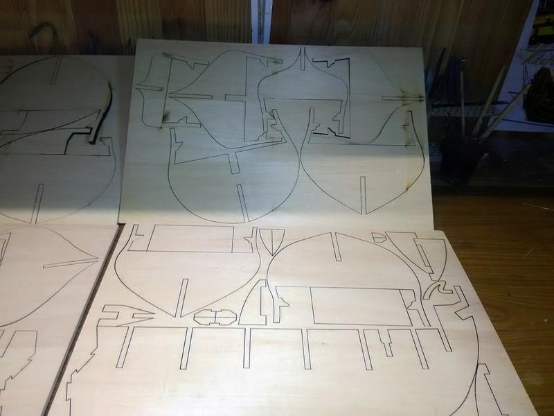 Hms Surprise 1/48 de chez artesania latina  par Model space  Img_2100