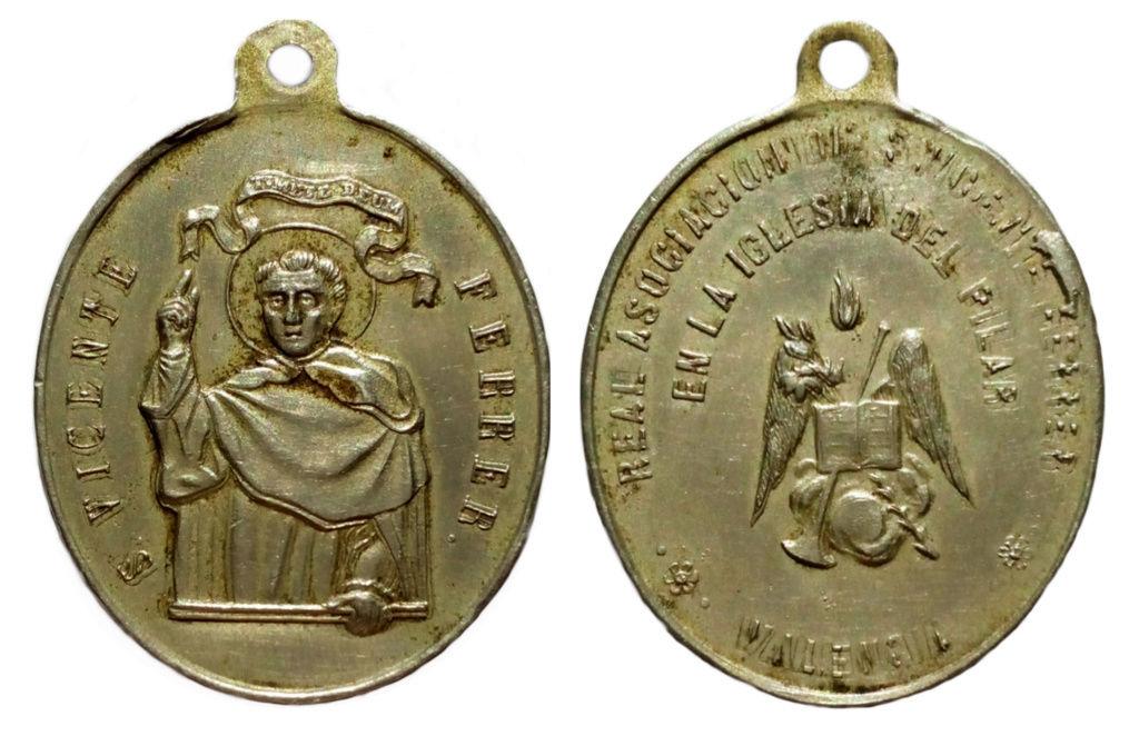 San Vicente Ferrer - Su Real Asoc. de la Iglesia del Pilar, S. XIX (R.M.  SXIX-O91 ) Picsar13