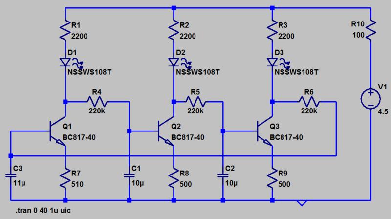 Трехрехфазный генератор для светодиодов 3phase10
