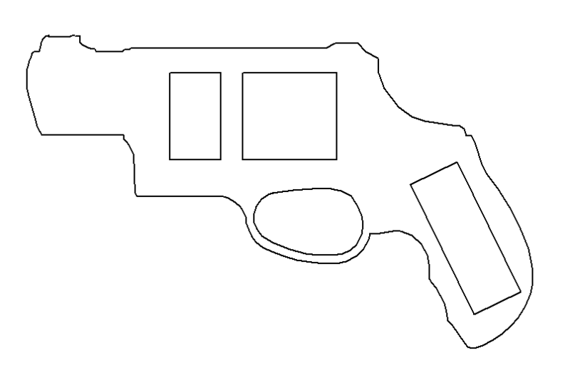фальшивый пистолет Taurus10