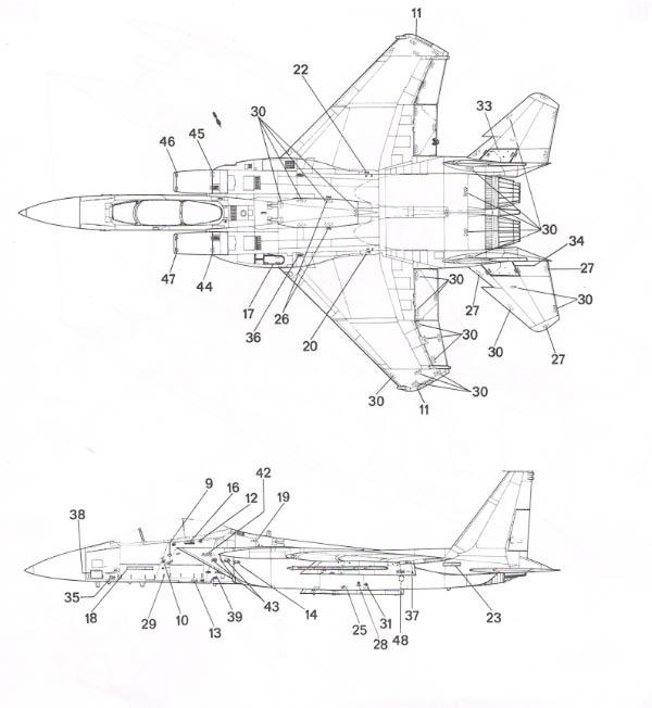 [Italeri] F-15 E Cci30010