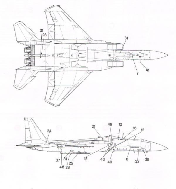 [Italeri] F-15 E Cci30016
