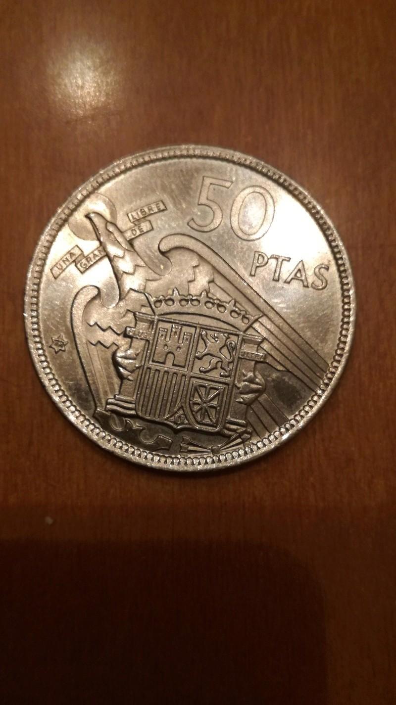 moneda 50 pesetas 1957 estrella 72 Img_2011