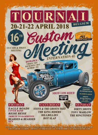 [BE] - Tournai - Custom Meeting - 20-21-22 avril 2018 Affich10