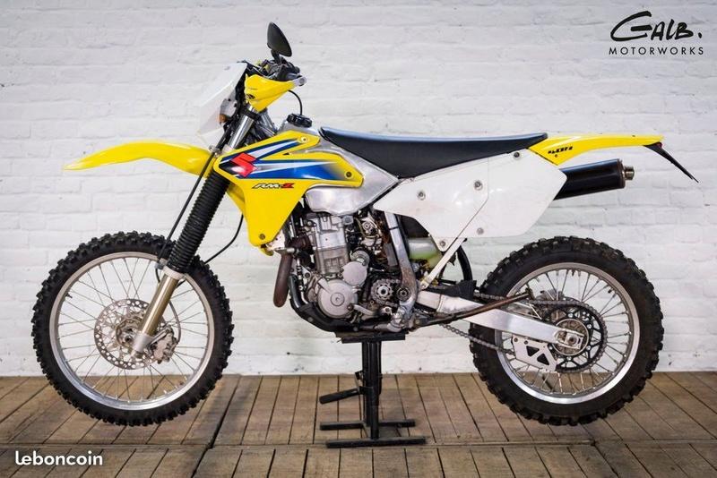 nouvelle moto Drz 400 e rsr Drz110