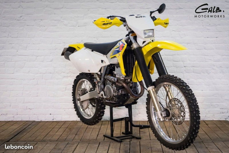 nouvelle moto Drz 400 e rsr Drz310