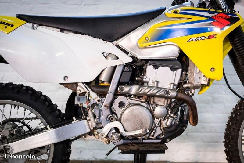 nouvelle moto Drz 400 e rsr Drz510
