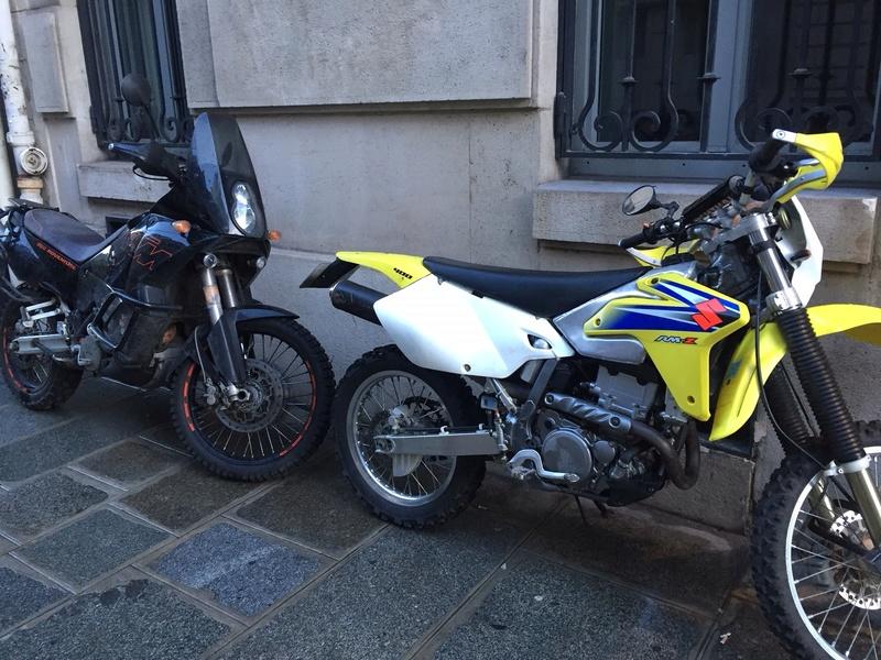 nouvelle moto Drz 400 e rsr Img_3510