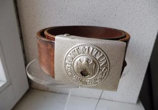 boucle de ceinture allemande et ceinturon Img-0210