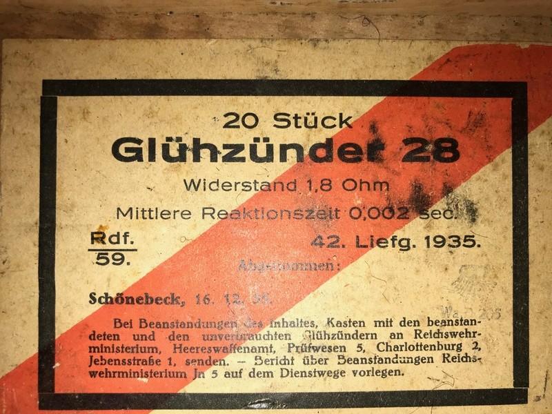 Boite en bois allemande allemande. Img-0215