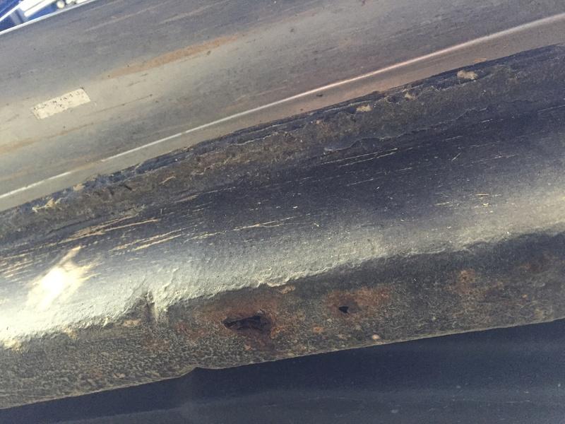 Avis sur 1303 cab avec corrosion perforante sur un longeron Image11