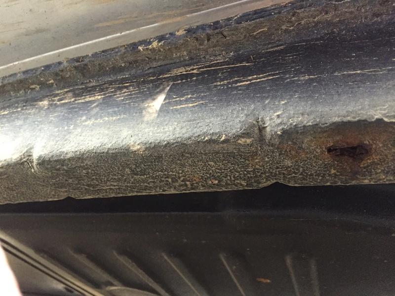 Avis sur 1303 cab avec corrosion perforante sur un longeron Image12
