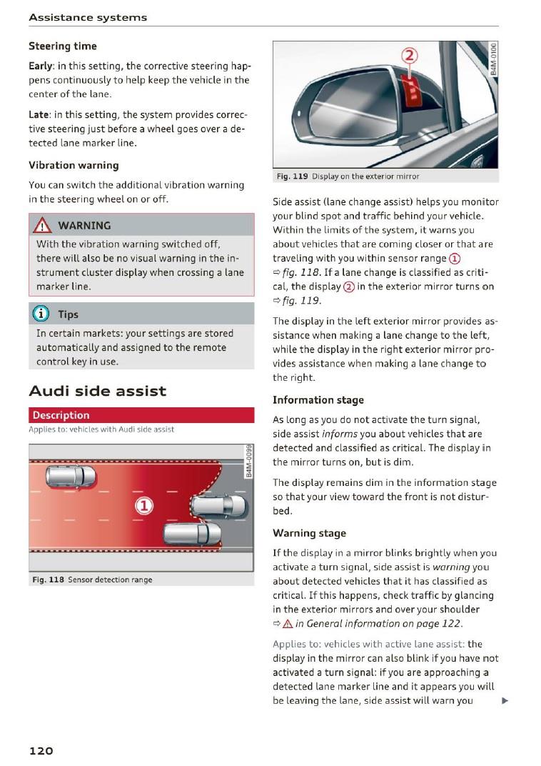 Rilevamento angoli ciechi - Pagina 2 Pag110