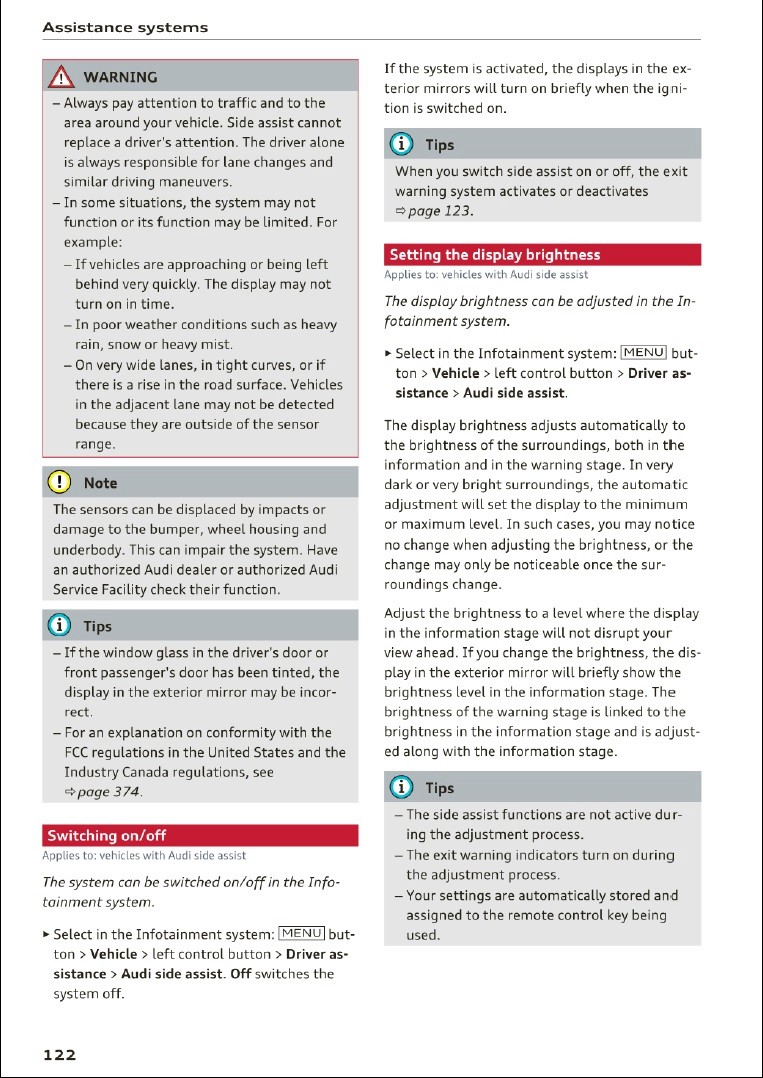 Rilevamento angoli ciechi - Pagina 2 Pag310