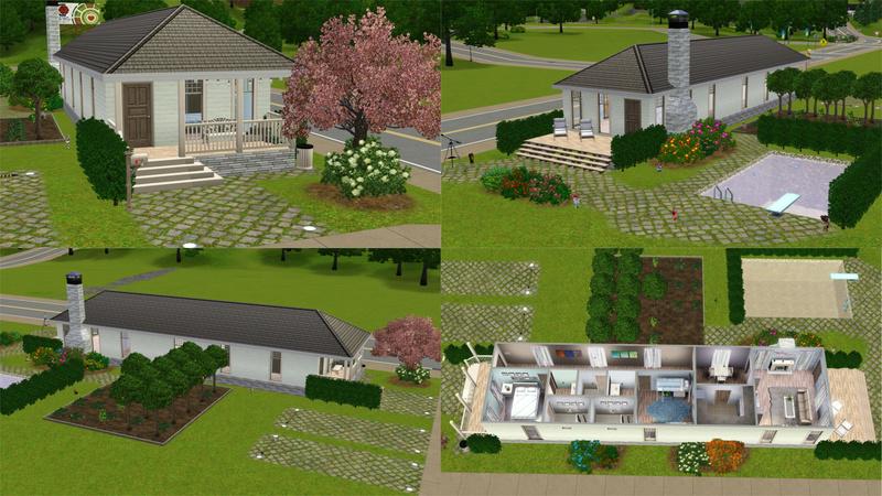 Stavba podle půdorysu Houseplan Pohled11