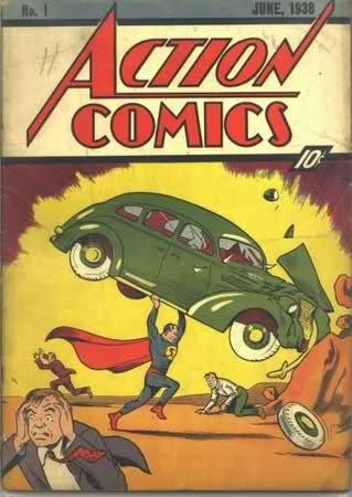 La première apparition de Superman dans un comic-book  169ngh10