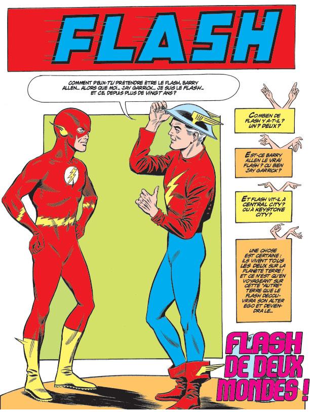 Jay Garrick alias Flash, évolution du personnage Zaflas10