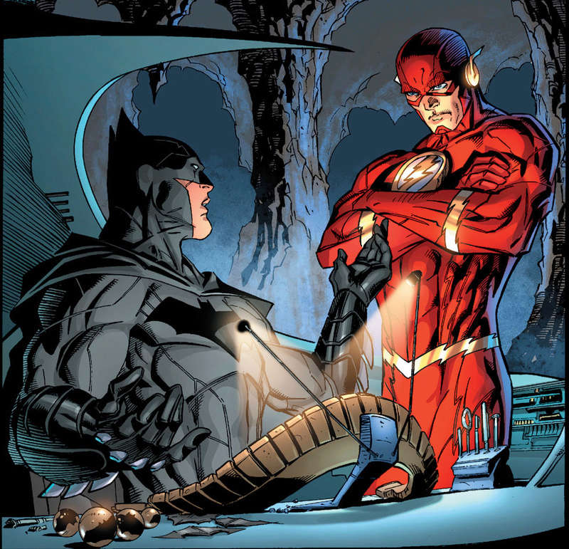 Jay Garrick alias Flash, évolution du personnage Zimgfl10