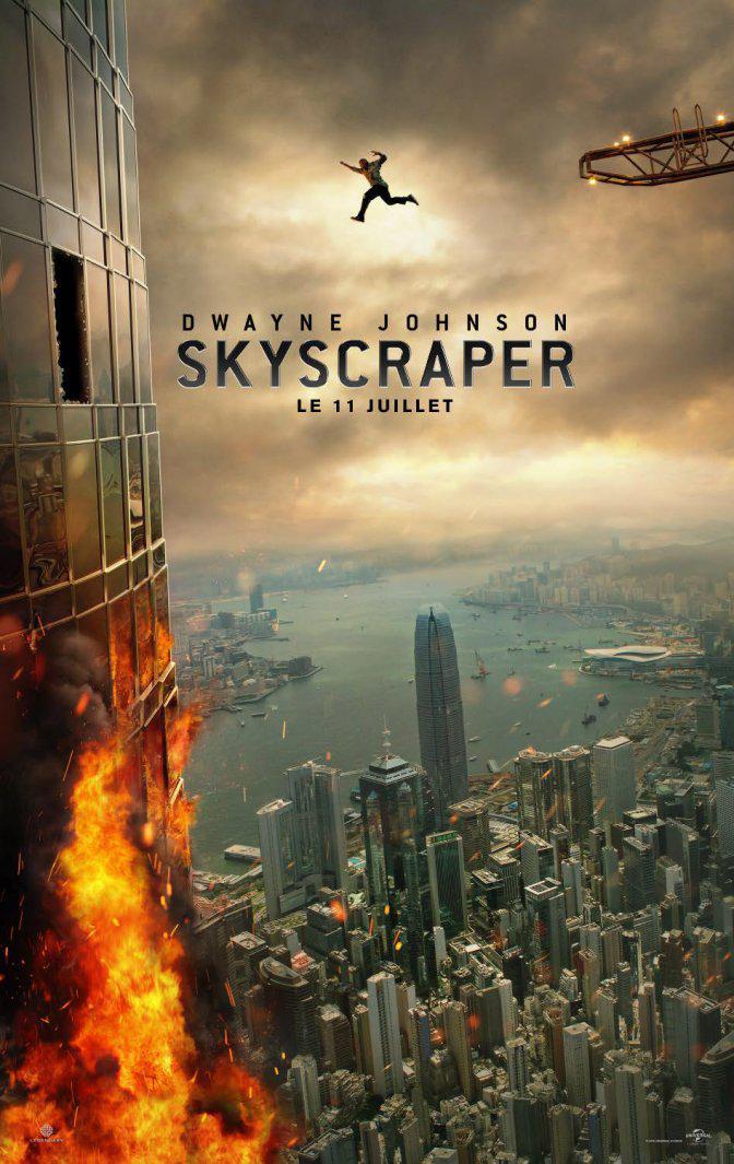 Skyscraper : Dwayne Johnson n'a pas le vertige dans le premier trailer ! Zssss10