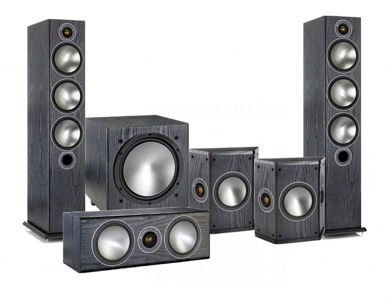 Monitor Audio Bronze 6 5.1 Home Theater Package 6-pack10