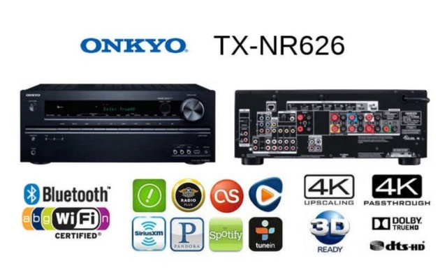 Onkyo TX-NR626 7 2Ch Network AV Receiver (Sold Out)