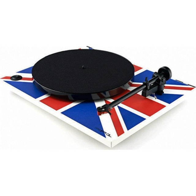 Rega RP1 Union Jack Edition Turntable Rega_r12