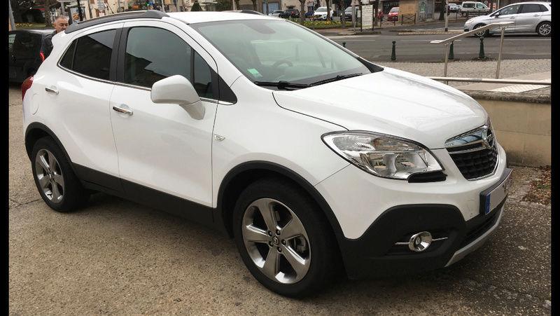 Nouveau possesseur Opel Mokka 110