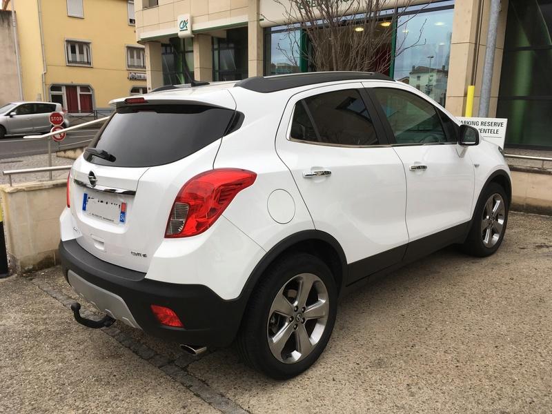 Nouveau possesseur Opel Mokka 210