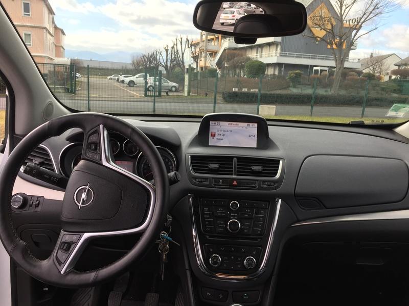 Nouveau possesseur Opel Mokka 310