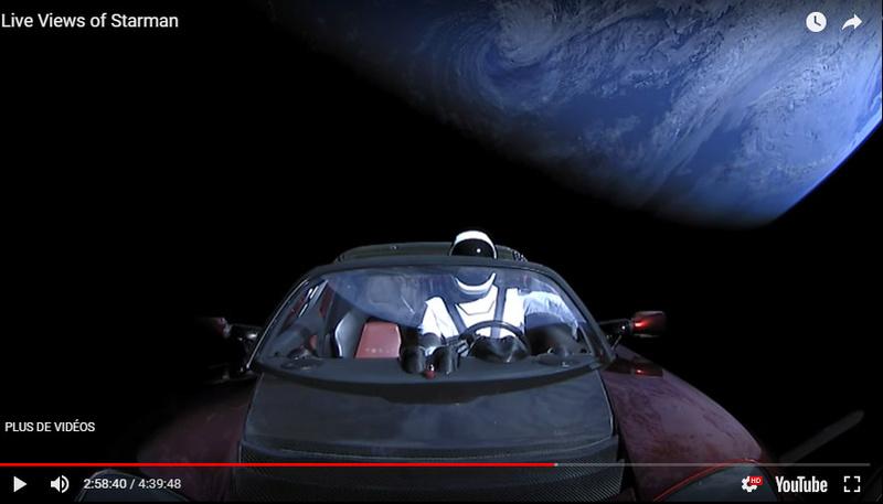 Lancement de Falcon Heavy  18020910