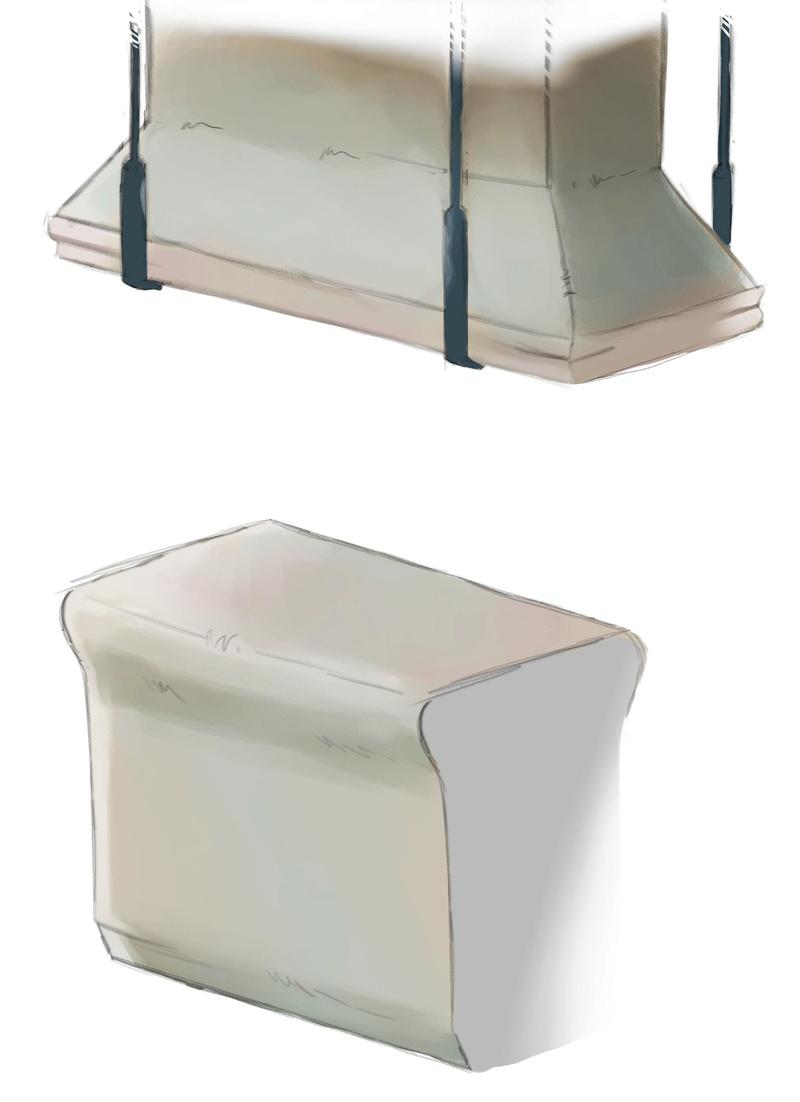Concept art des accessoires de la cuisine. Compto10