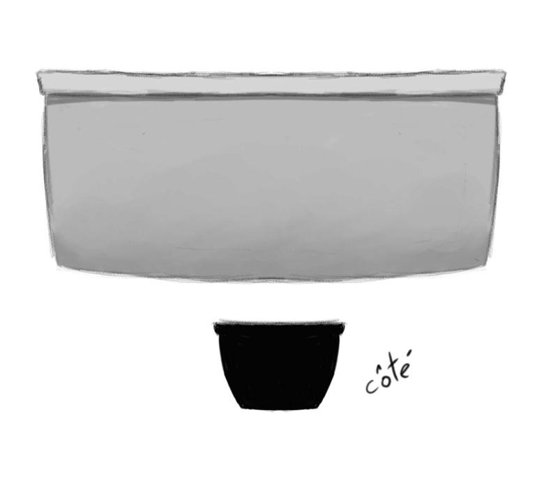 Concept art des accessoires de la cuisine. Compto12