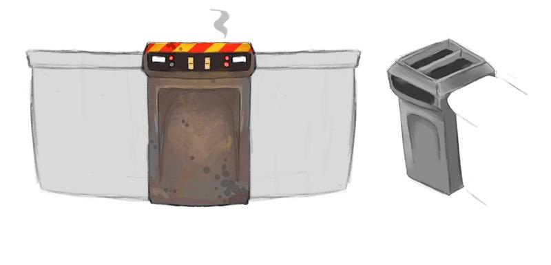 Concept art des accessoires de la cuisine. Compto13