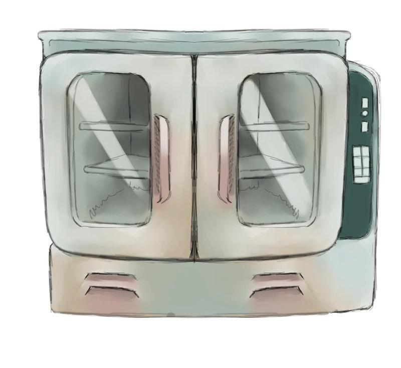 Concept art des accessoires de la cuisine. Fourne11