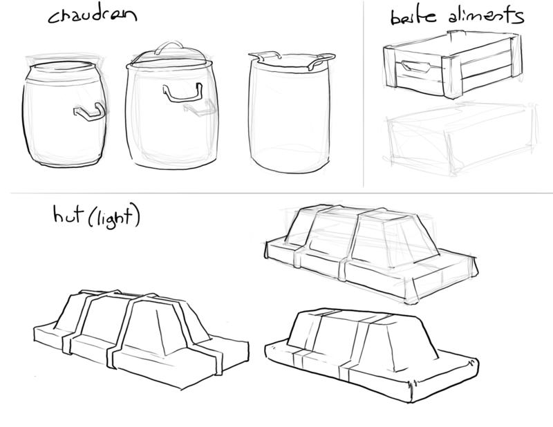 Concepts cuisine 03 (Hut de lumière, boîte d'aliments, chaudron et table de cuisine) 3conce10