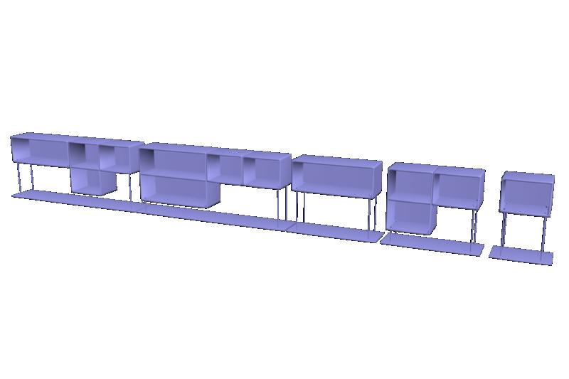 Modélisation étagères + unwrap Compto10