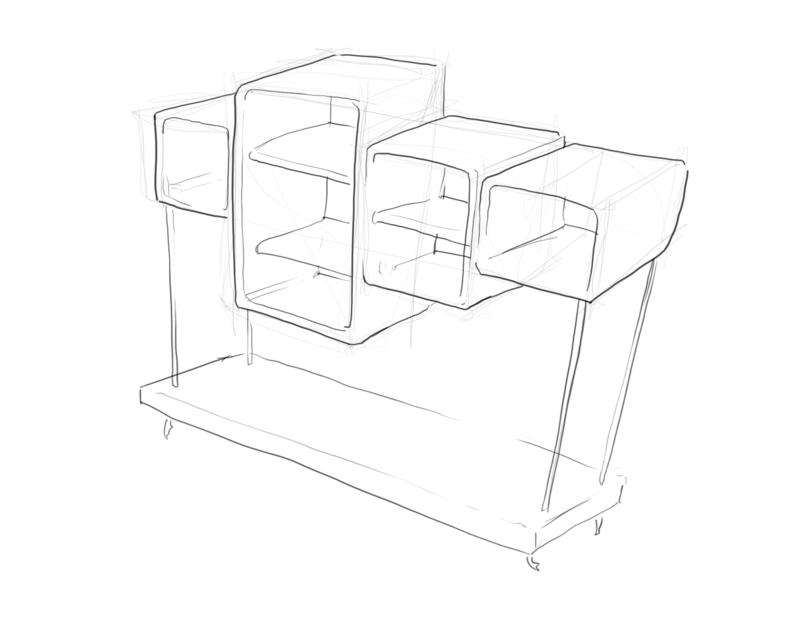 Concepts étagères Concep11