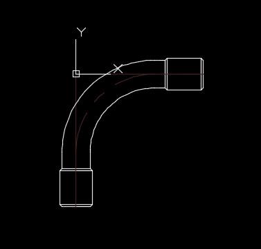 求檔水電PVC-90度及45度大月彎以及EMT-90度及45度大月彎(長短另件)PDF或CAD檔 2018-011