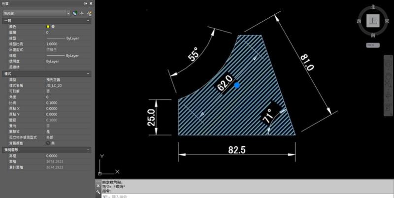 AutoCAD教學 幾何圖形習題04 556610