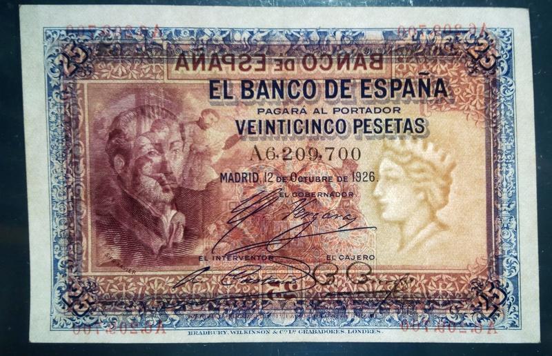 25 pesetas 1926 - San Francisco Javier 25_pta16