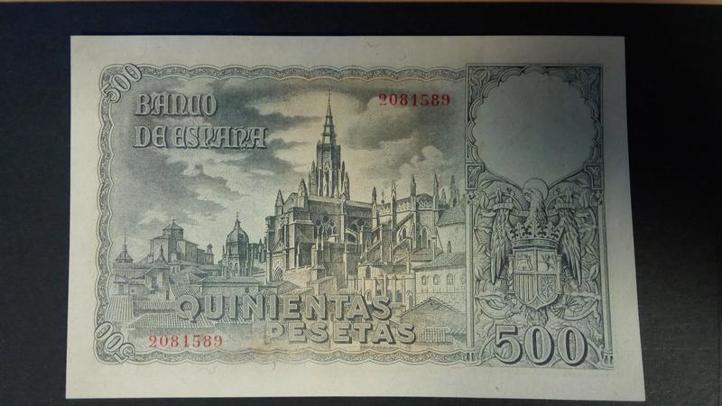 500 pesetas 21 de octubre de 1940 - Orgaz B10