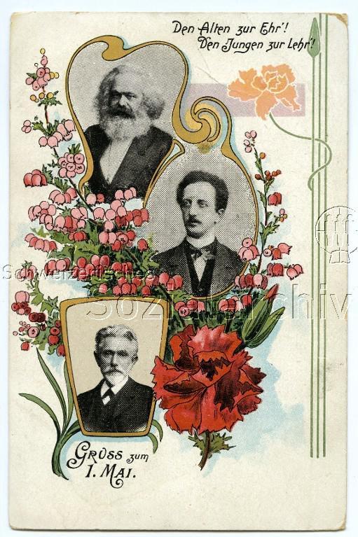 ABC Postkarten 1890-1900 der Zeitschrift Glühlichter Marx_l10