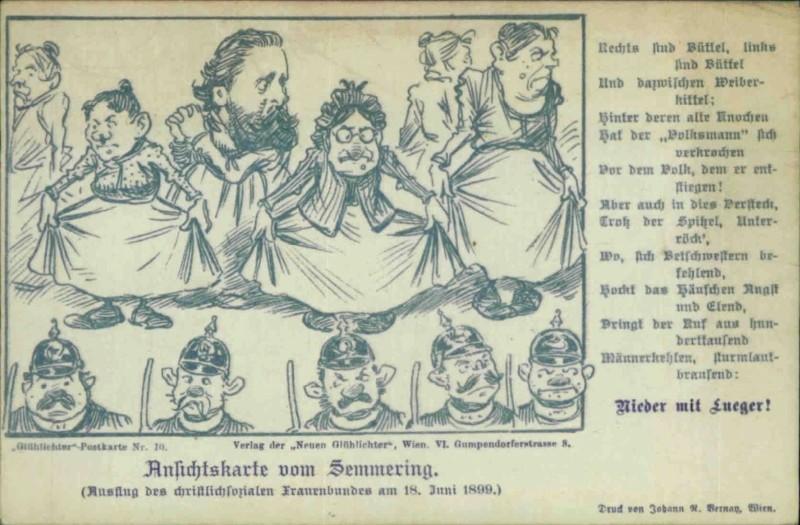 ABC Postkarten 1890-1900 der Zeitschrift Glühlichter Nummer12