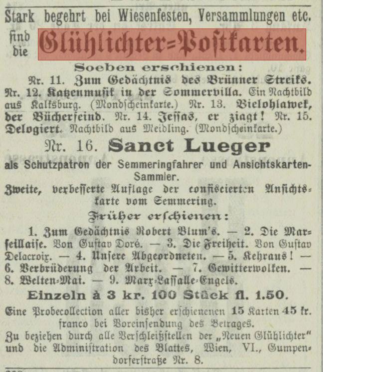 ABC Postkarten 1890-1900 der Zeitschrift Glühlichter Postka10