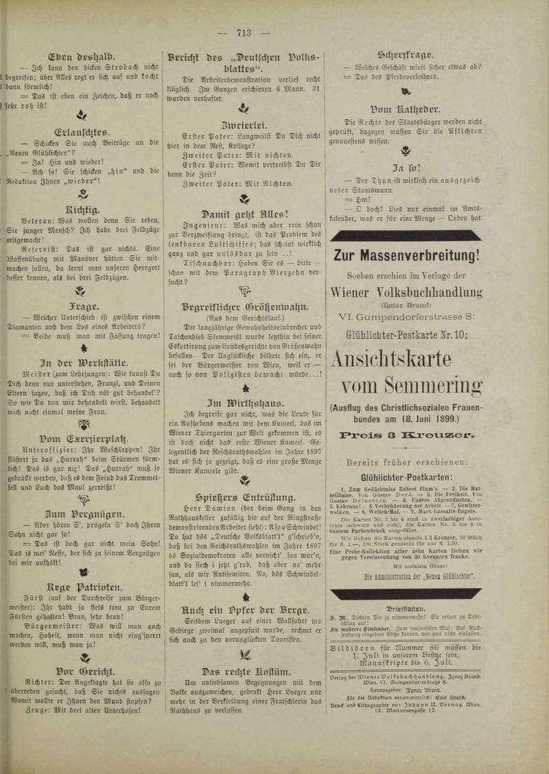 ABC Postkarten 1890-1900 der Zeitschrift Glühlichter Werbun11