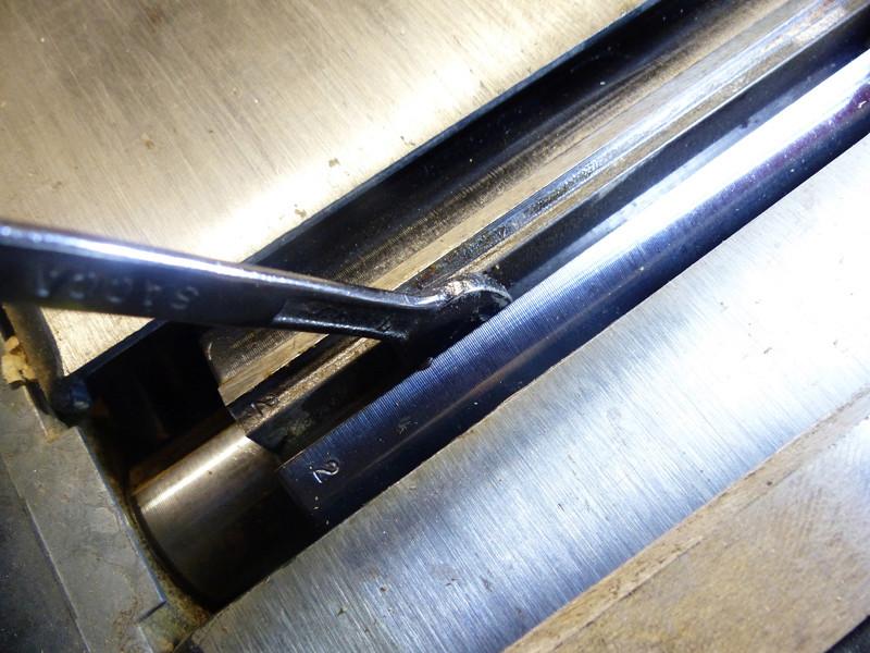 Réglage des fers de dégau Maxi 26  plus 0214