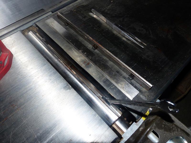 Réglage des fers de dégau Maxi 26  plus 0315