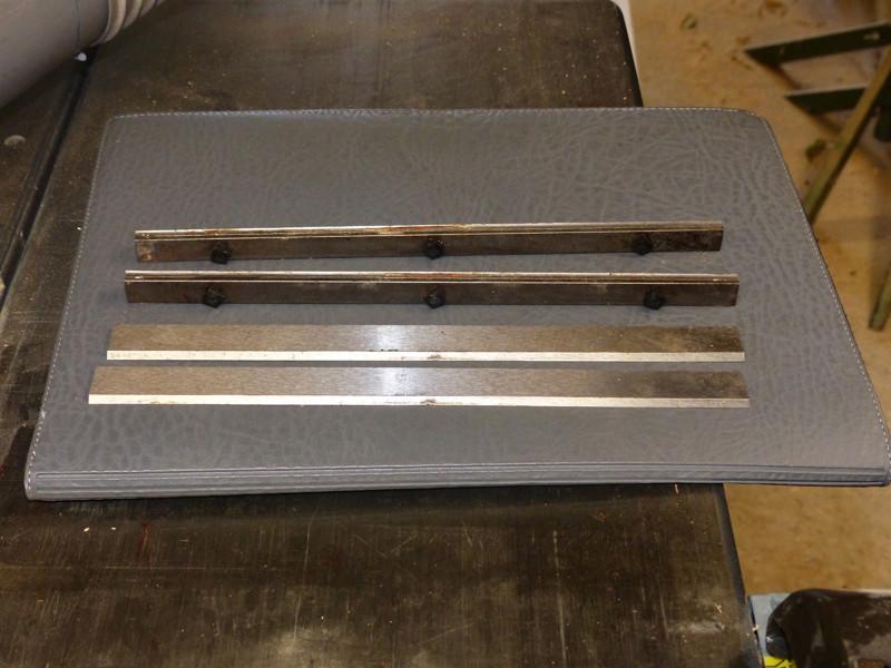 Réglage des fers de dégau Maxi 26  plus 0413