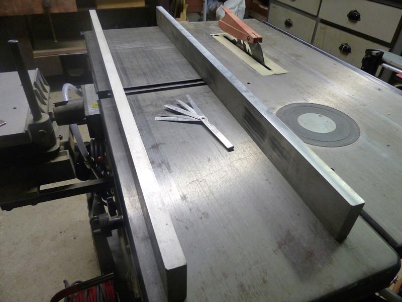 Réglage des fers de dégau Maxi 26  plus 0613
